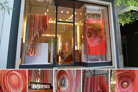 BIGPRINTS_Produccion-instalacion-escaparate-Hermes-Galop-Madrid
