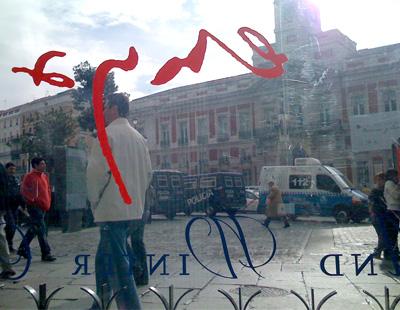 Aplicaci n de vinilos de corte decorativos en escaparate for Corte ingles puerta del sol madrid